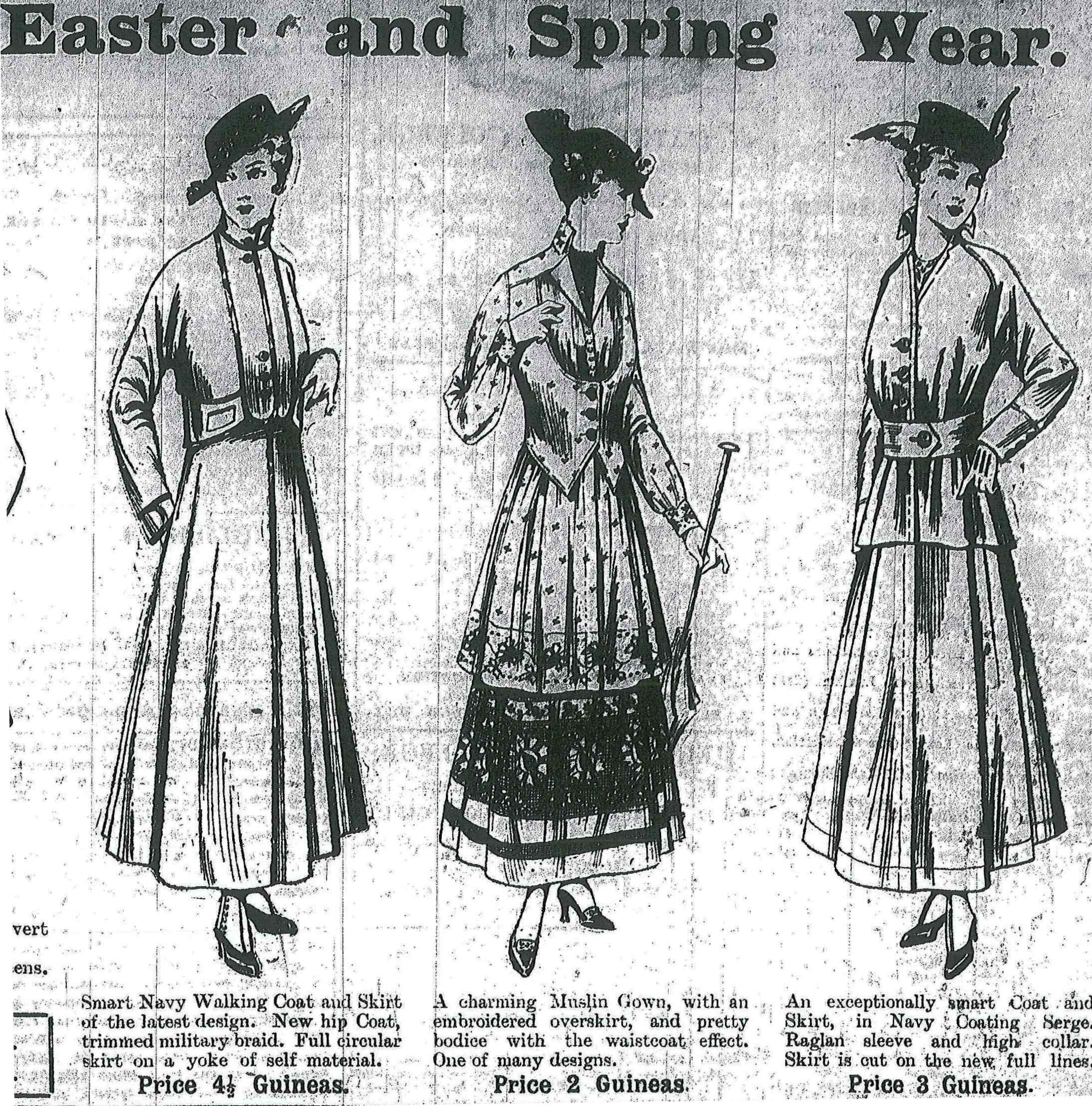 Easter & Springwear 1915