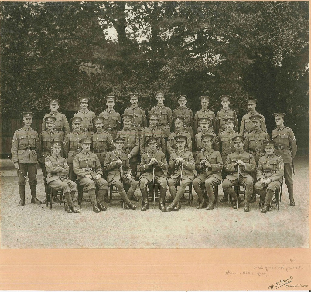 Middlesex Volunteer Reserve 1916