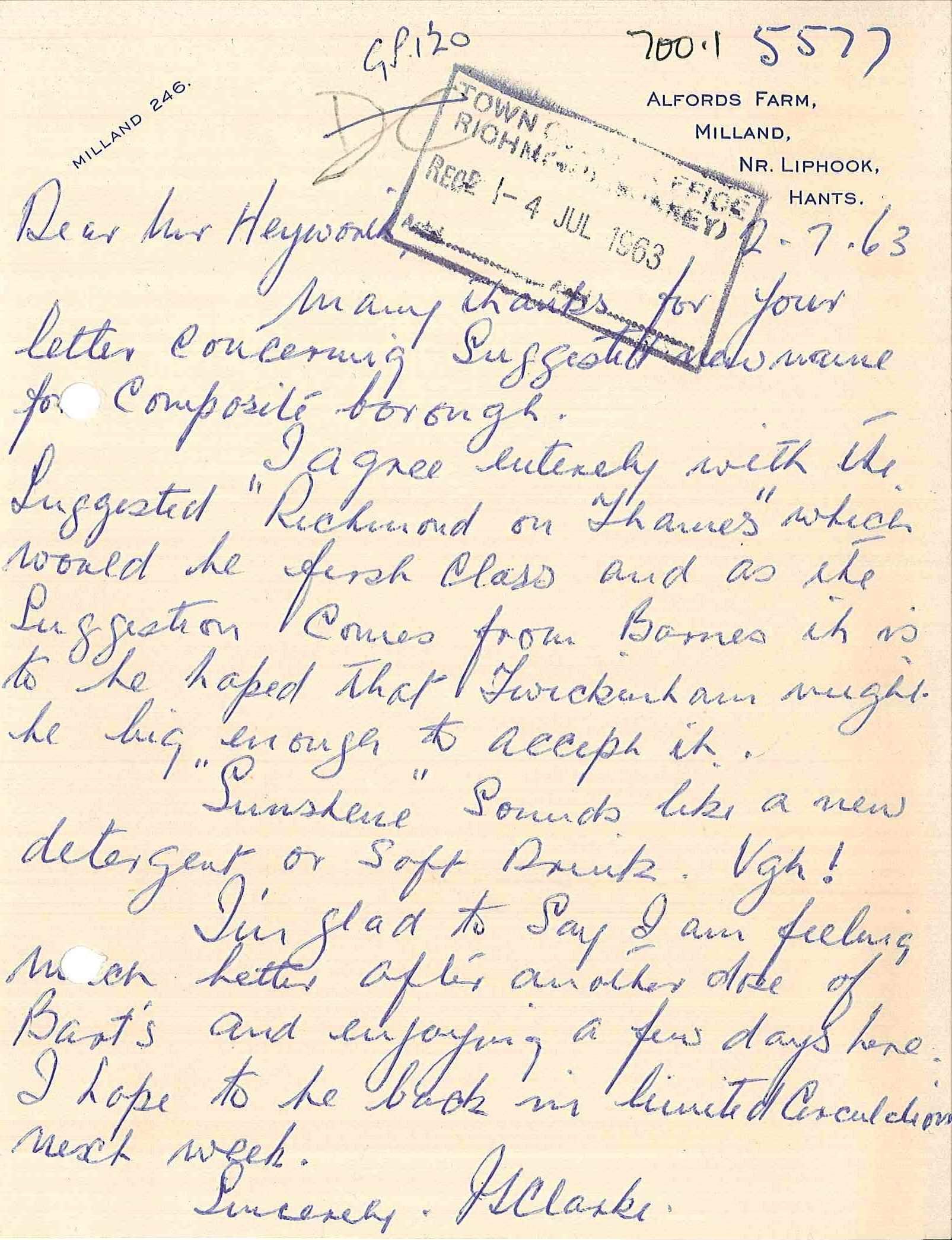 Local Studies Letter