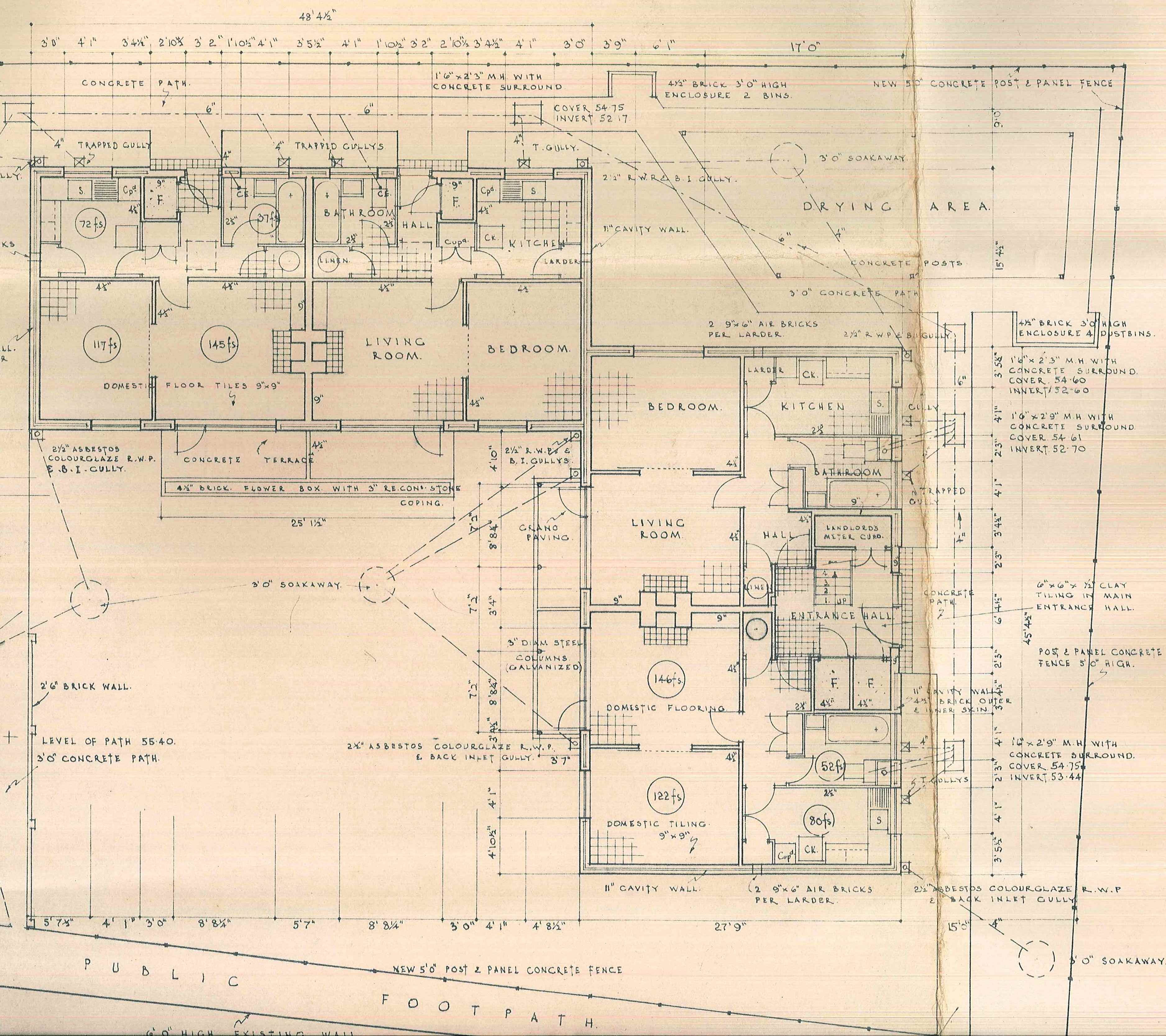 Plans - Roy House 1958