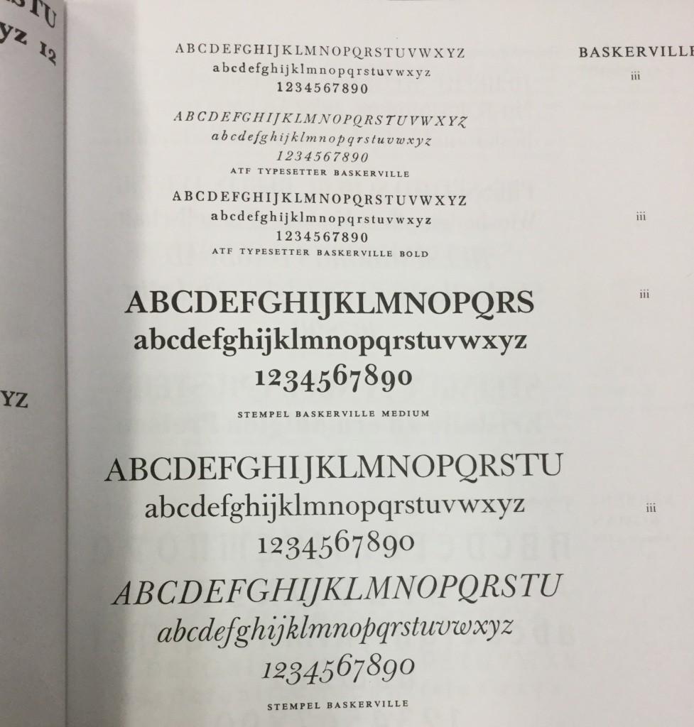 Typefaces 5