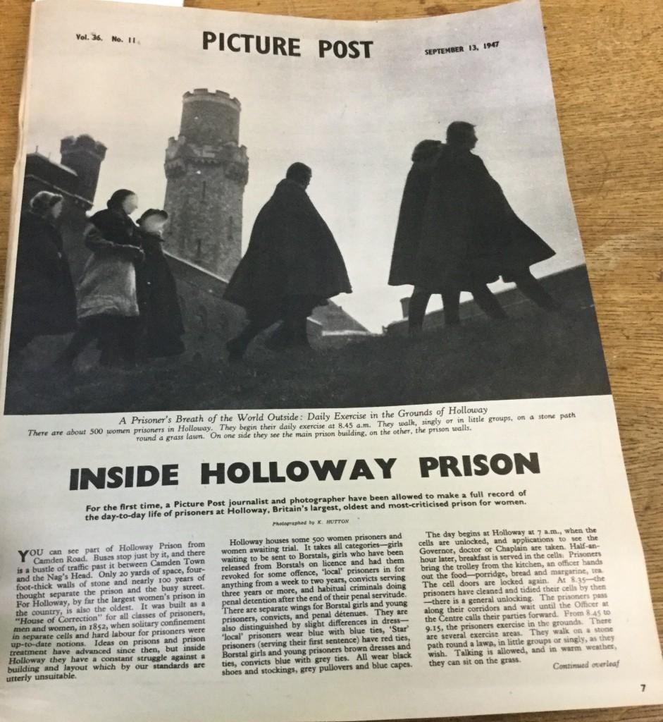 Inside Holloway Prison