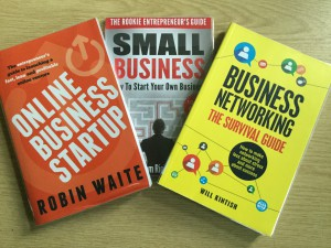 Interested in starting your own business? Pick up your essential how-to guides @ the reference library