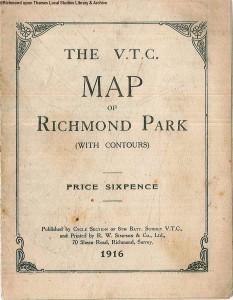 Map of Richmond Park