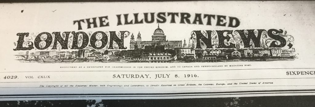 Illustrated London News, 8 July 1916
