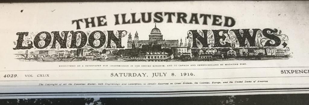 Illustrated London News, 8 July 1916