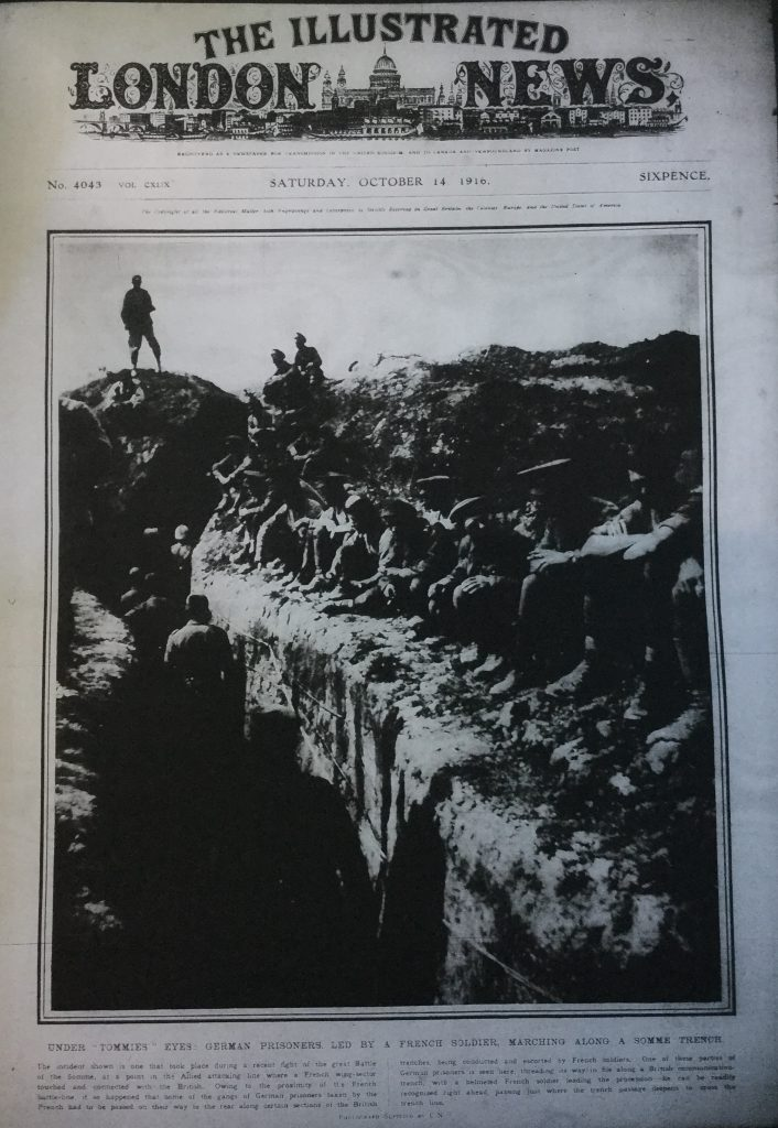 Illustrated London News 14th Oct 1916
