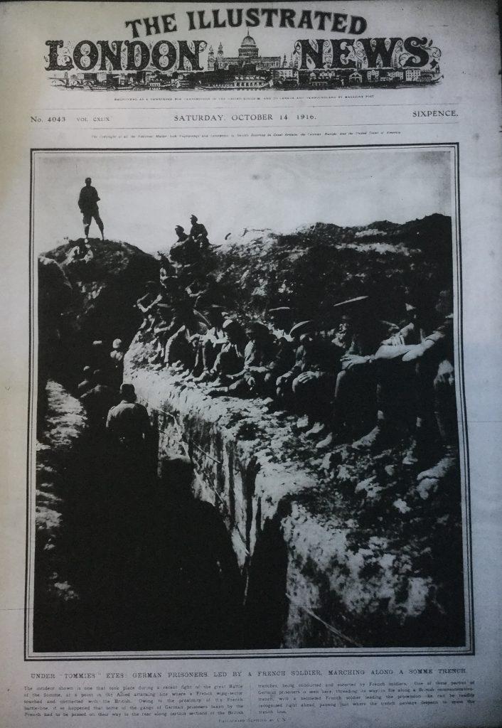 Illustrated London News 14th Oct 1916