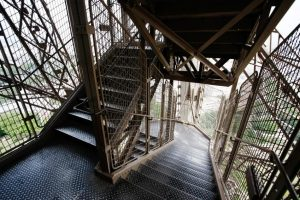 the tower staircase