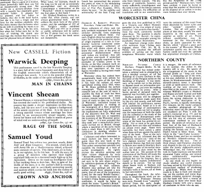 Times Literary Supplement 3 July 1953