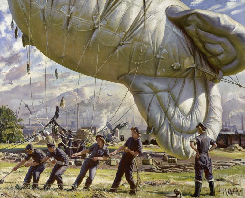 3. A Balloon Site, Coventry © IWM(Art.IWM ART LD 2750)