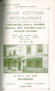 One of the numerous local businesses advertised in 'Springbok Blue'