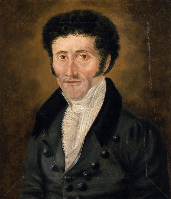 Self-portrait of ETA Hoffmann