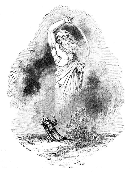Illustration from 1001 nights