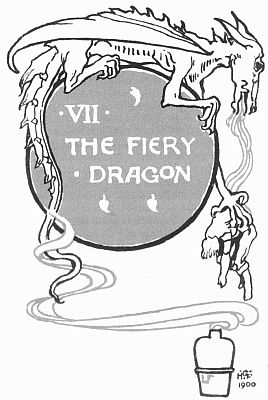 Title illustration for The Fiery Dragon