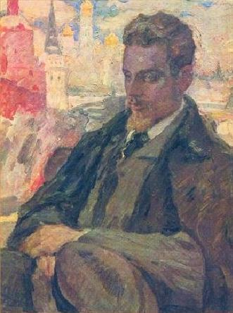 Painting of Rainer Maria Rilke