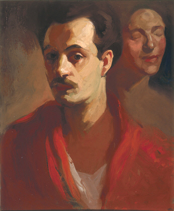 Self portraif of Khalil Gibran