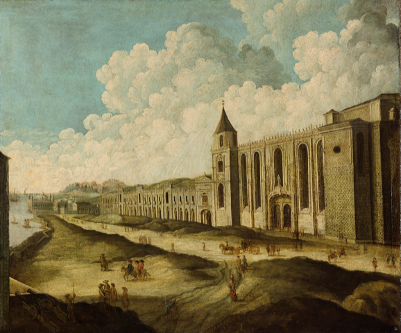 Illustration of the monastery where Pasteis de Nata were first baked
