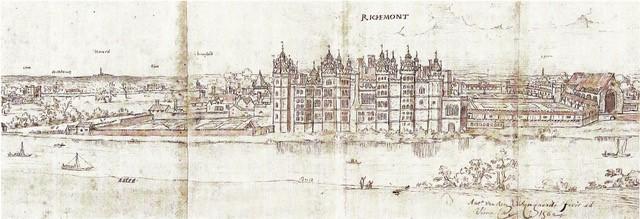 Illustration of Richmond Palace